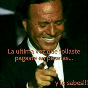 Julio Iglesias follar pesetas