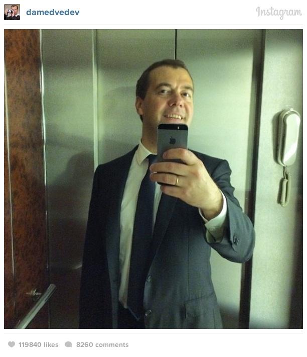 Dmitri Medvedev instagram